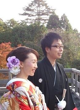 京都 秋 ご結婚式