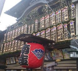 京都 南座 「まねき」