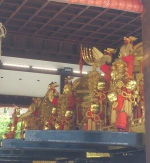 祇園祭 お神輿