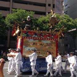 祇園祭 山鉾巡行(後祭り)