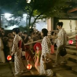 祇園祭 神輿洗 2