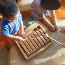 木琴のメンテナンス