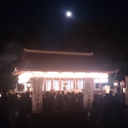 上賀茂神社 中秋の名月