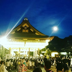 八坂神社 中秋の名月