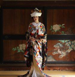 LST着物撮影② 京都結婚式