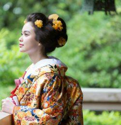 LST着物撮影①京都結婚式