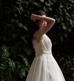 東京ウエディング ドレス撮影