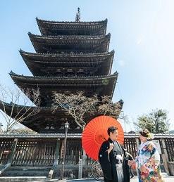 京都前撮り ロケーション撮影