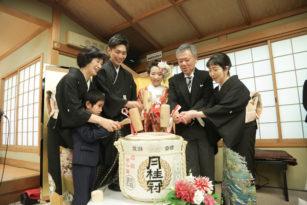 和の演出紹介 ②「鏡開き」京都結婚式