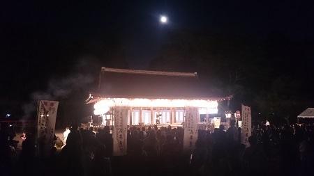 上賀茂神社「賀茂観月祭」LSTウエディング