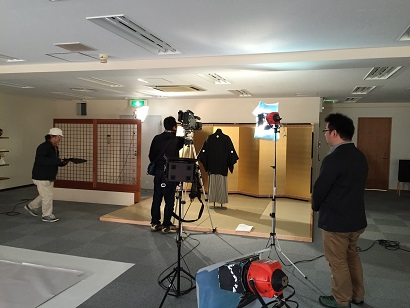 NHK取材