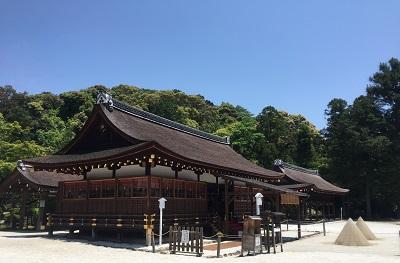 上賀茂神社の皆様と