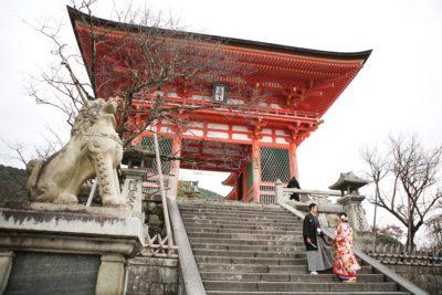 清水寺さんにてご結婚式 京都結婚式