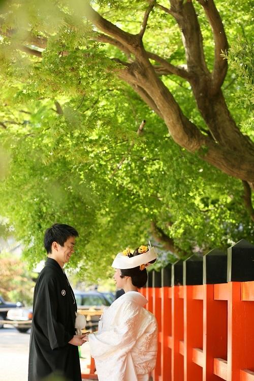 上賀茂神社さんでのご結婚式 京都結婚式
