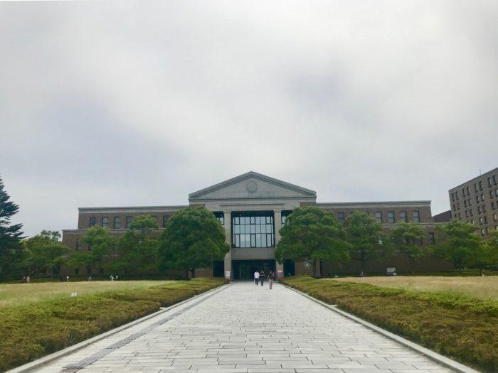 同志社 京田辺キャンパスでの撮影