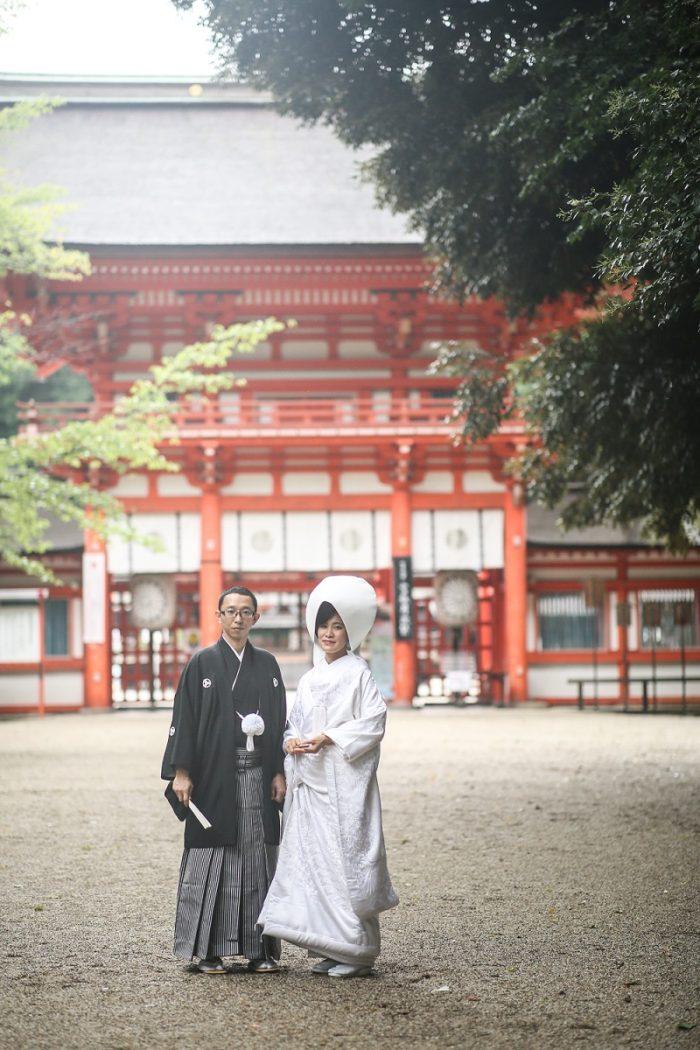 下鴨神社さんでのご結婚式
