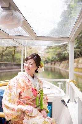 びわ湖疏水船ロケーション撮影